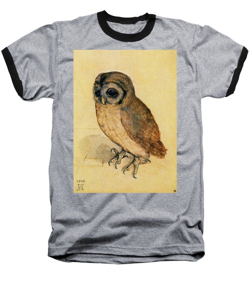 The Little Owl Baseball T-Shirt