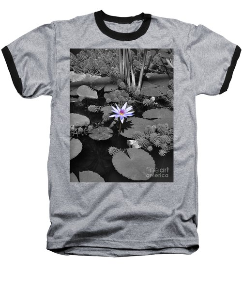 The Lone Flower Baseball T-Shirt