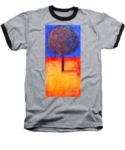 The Lonely Tree In Autumn Baseball T-Shirt
