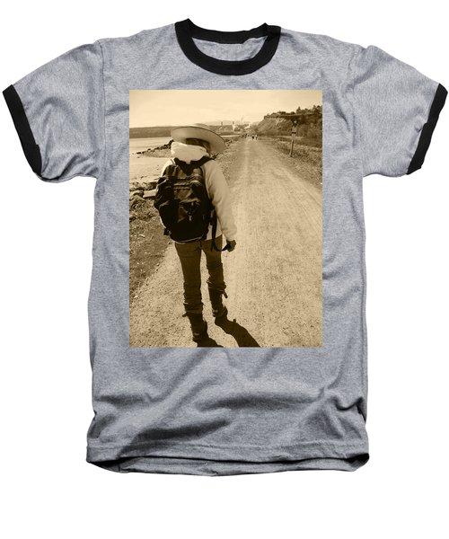 The Long And Winding Road Baseball T-Shirt by Kym Backland