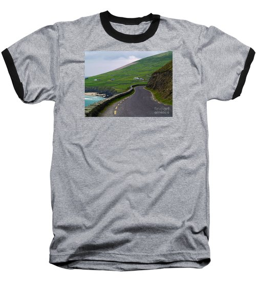 The Long And Winding Road Baseball T-Shirt by Patricia Griffin Brett