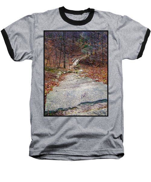 The Long Lonely Trail... Baseball T-Shirt by Tim Fillingim