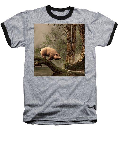 The Lost Pig Baseball T-Shirt