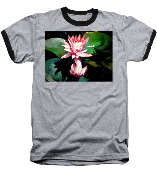 The Lotus Baseball T-Shirt