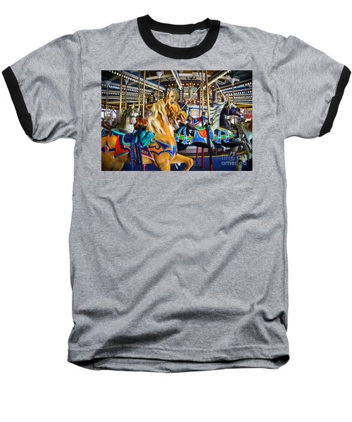 The Magical Machine - Carousel Baseball T-Shirt