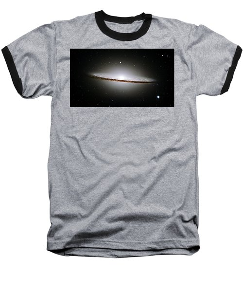 The Majestic Sombrero Galaxy Baseball T-Shirt