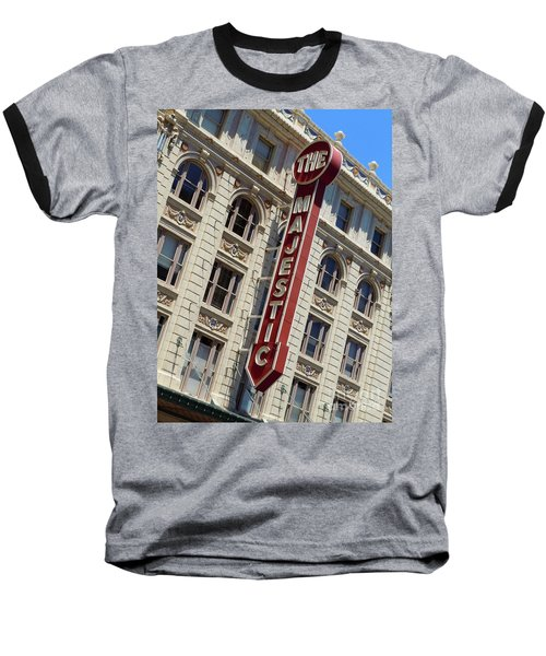Baseball T-Shirt featuring the photograph The Majestic Theater Dallas #2 by Robert ONeil