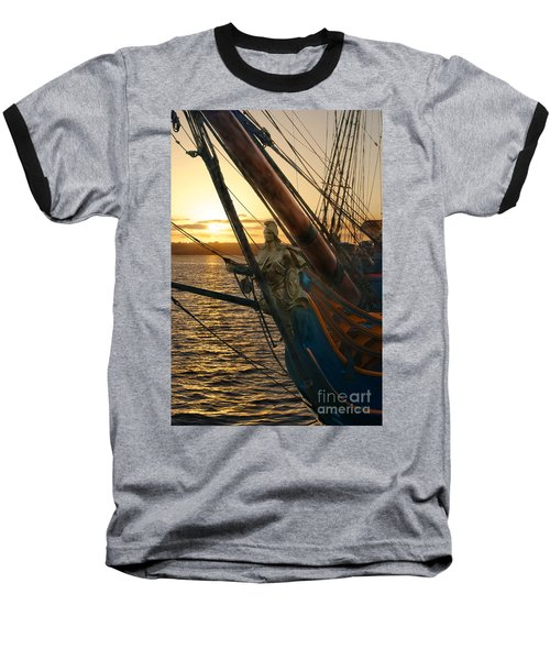 The Majesty Of The Ocean Baseball T-Shirt