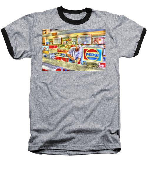The Malt Shoppe Baseball T-Shirt