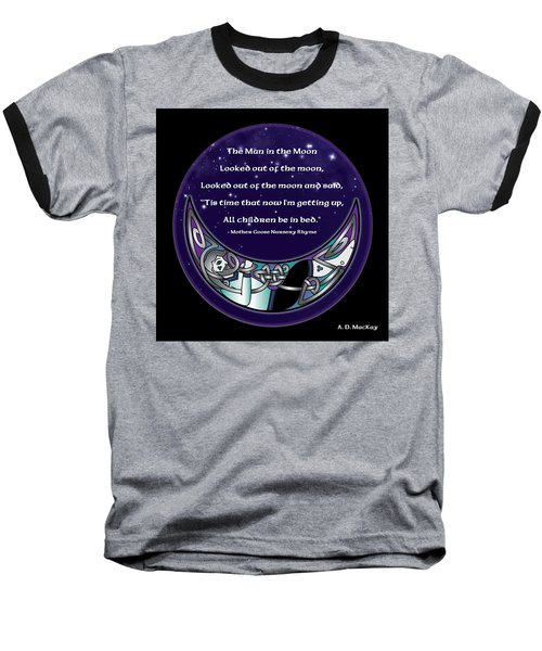 The Man In The Moon Baseball T-Shirt