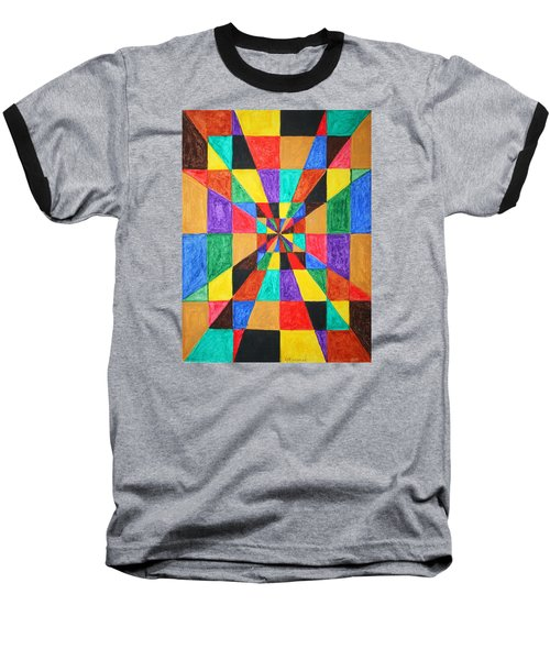 The Matrix  Baseball T-Shirt by Stormm Bradshaw