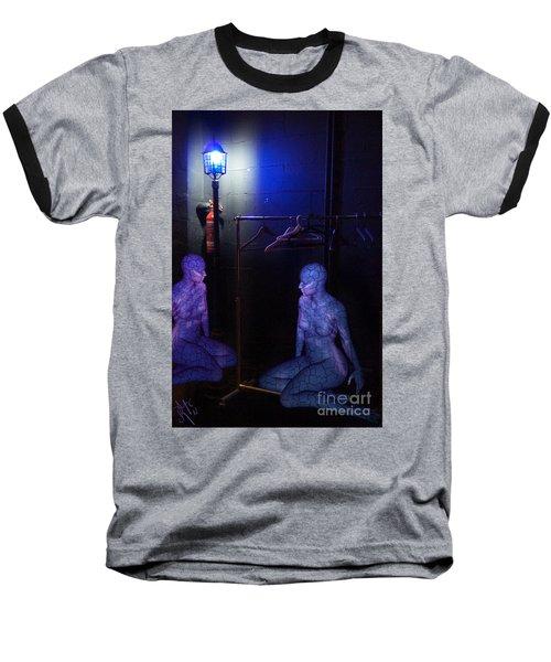 The Mermaids Dresser Baseball T-Shirt by Rosa Cobos