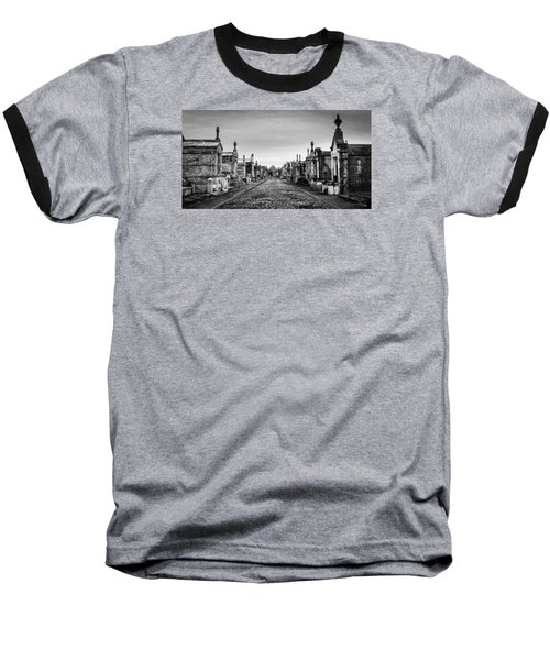 The Metairie Cemetery Baseball T-Shirt by Tim Stanley