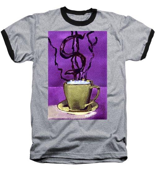 The Midas Cup Baseball T-Shirt by Paula Ayers