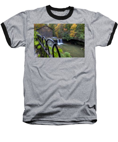 The Mill And Falls At Mill Creek Park Baseball T-Shirt