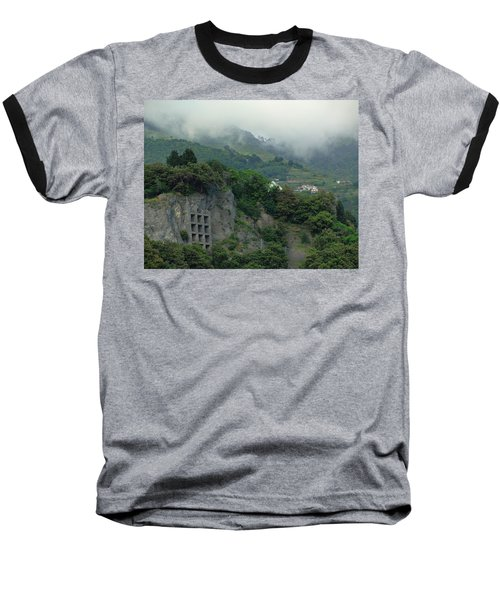 Baseball T-Shirt featuring the photograph The Mist Cometh by Natalie Ortiz