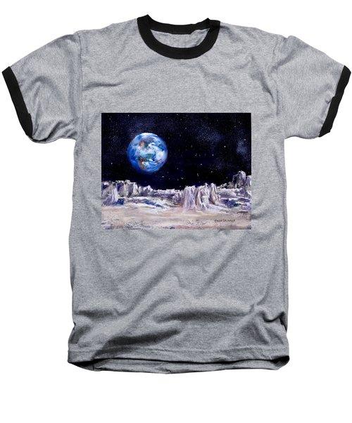 The Moon Rocks Baseball T-Shirt
