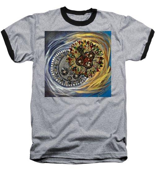 The Moon's Eclipse Baseball T-Shirt