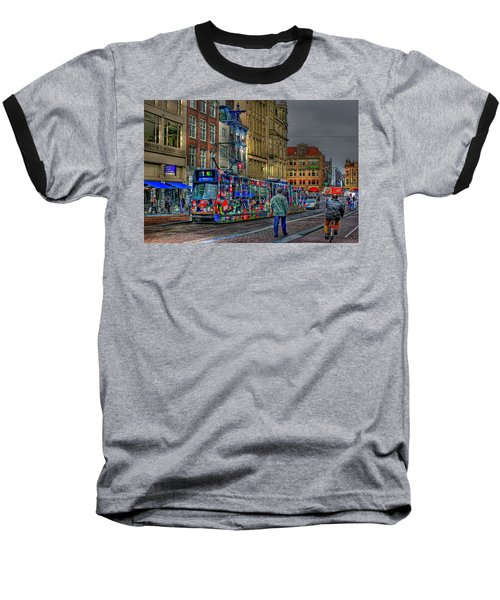 Baseball T-Shirt featuring the photograph The Morning Rhythm by Ron Shoshani