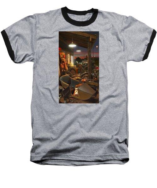 The Motorcycle Shop 2 Baseball T-Shirt