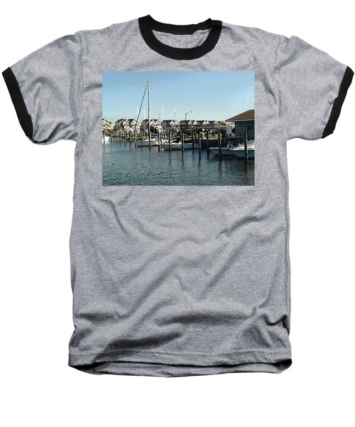 Baseball T-Shirt featuring the photograph The Narrows by Charles Kraus