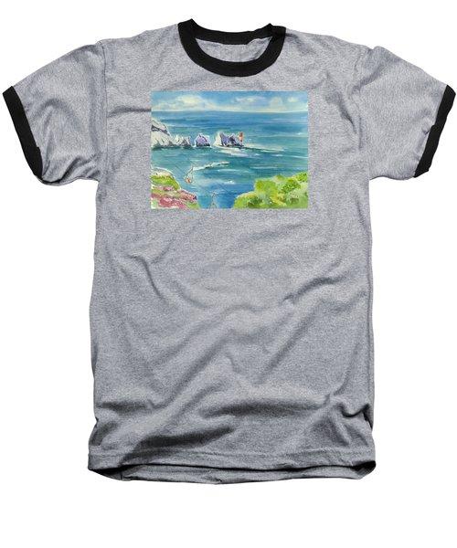 The Needles Isle Of Wight Baseball T-Shirt