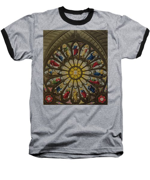 The North Window Baseball T-Shirt by William Johnstone White