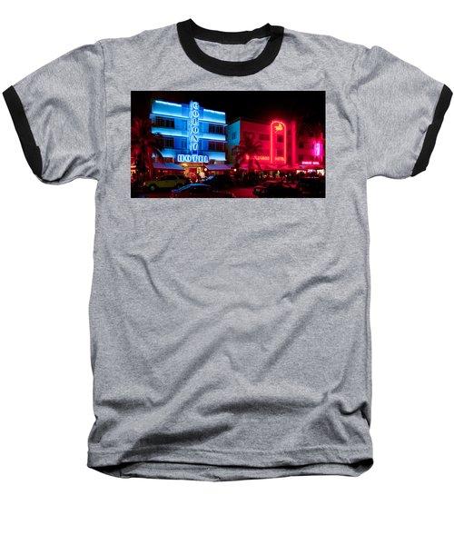 The Ocean Drive Baseball T-Shirt