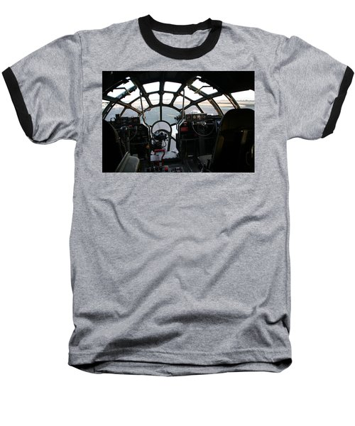 Baseball T-Shirt featuring the photograph The Office by David S Reynolds