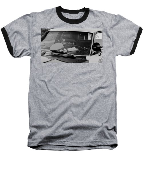 Baseball T-Shirt featuring the photograph The Office On Wheels by Jim Thompson