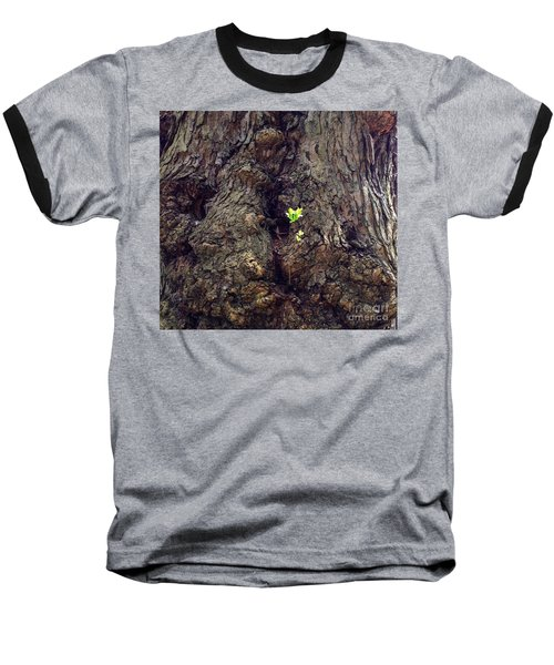 Baseball T-Shirt featuring the photograph The Old And The New by Becky Lupe