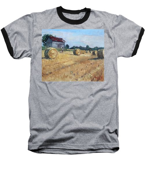 The Old Barns In Georgetown On Baseball T-Shirt