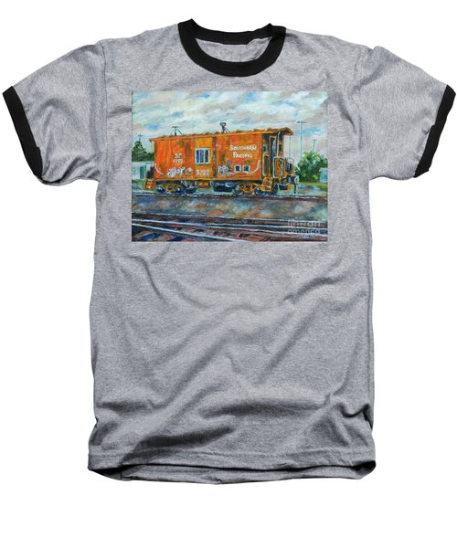 The Old Caboose Baseball T-Shirt