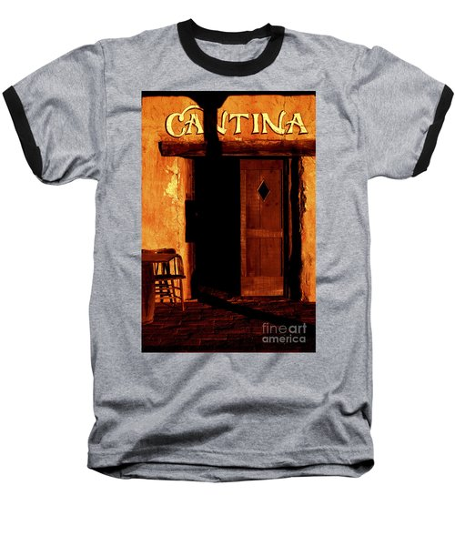 The Old Cantina Baseball T-Shirt by Paul W Faust -  Impressions of Light