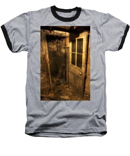 The Old Cellar Door Baseball T-Shirt by Dan Stone