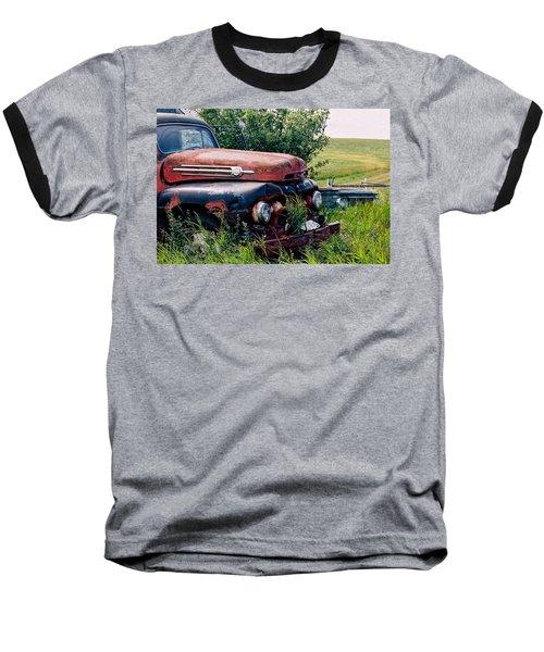 The Old Farm Truck Baseball T-Shirt