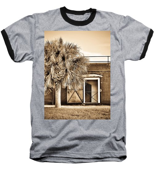 The Old Fort-sepia Baseball T-Shirt