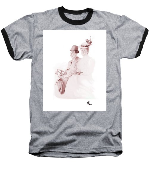 The Old Gray Mare Baseball T-Shirt by C Sitton