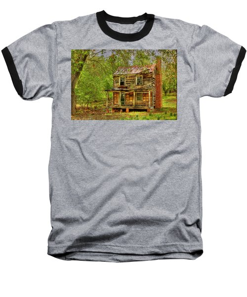 The Old Home Place Baseball T-Shirt by Dan Stone