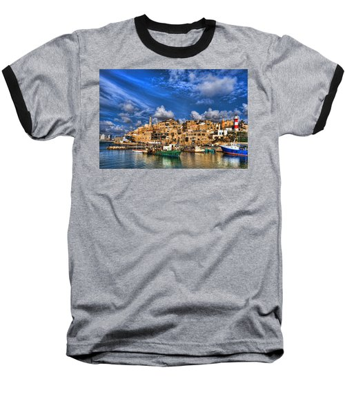 the old Jaffa port Baseball T-Shirt