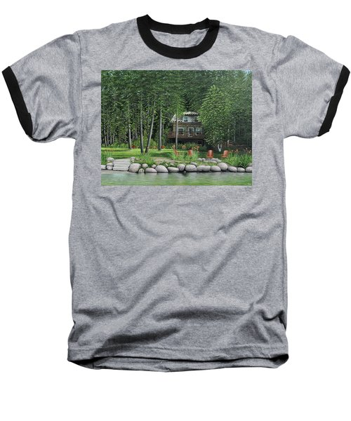 The Old Lawg Caybun On Lake Joe Baseball T-Shirt