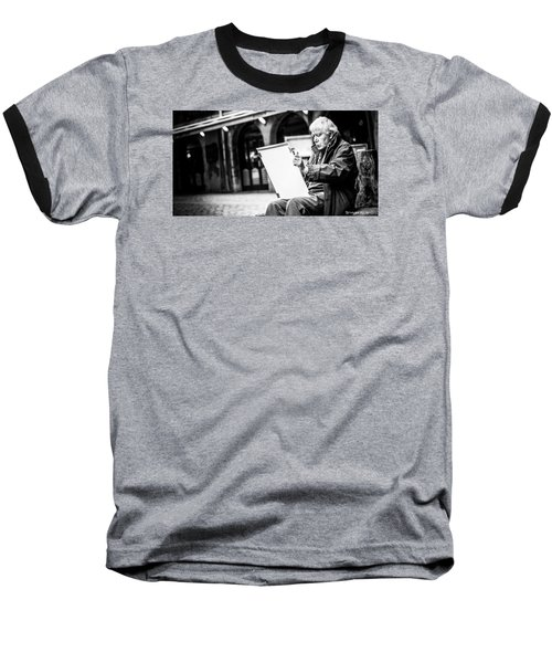 Baseball T-Shirt featuring the photograph The Old Man Painter II by Stwayne Keubrick