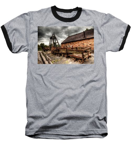 The Old Mine Baseball T-Shirt by Adrian Evans