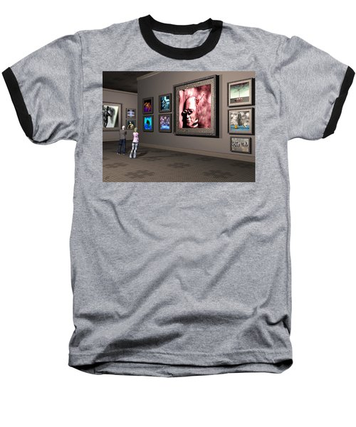 The Old Museum Baseball T-Shirt