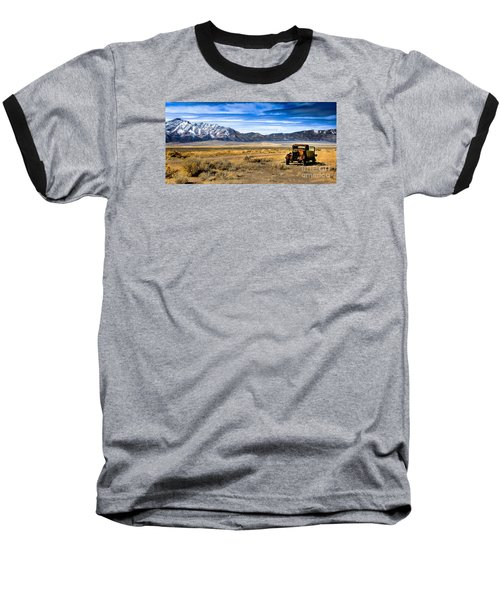 The Old One Baseball T-Shirt by Robert Bales