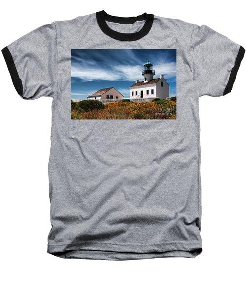 The Old Point Loma Lighthouse By Diana Sainz Baseball T-Shirt