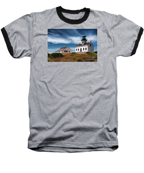 The Old Point Loma Lighthouse By Diana Sainz Baseball T-Shirt