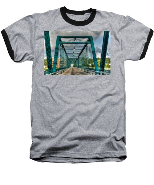Baseball T-Shirt featuring the photograph The Old Sixth Street Bridge by Robert Pearson