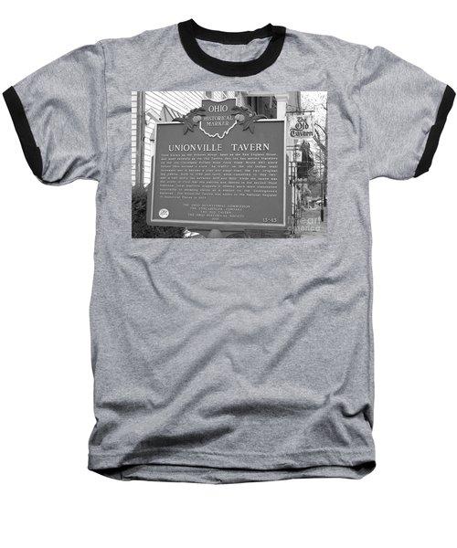 The Old Tavern II Baseball T-Shirt