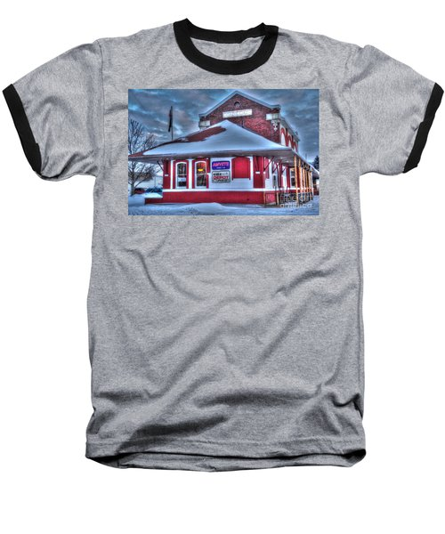 The Old Train Station Baseball T-Shirt